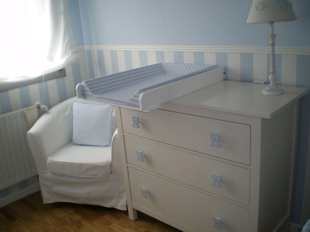 Cambiador superior de madera in 2019 baby habitaciones - Mueble cambiador bebe ...