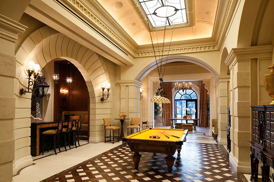 "Kna Interior Design Caesars Palace  Las Vegas Nv  ""basketweave"" Floor Pattern."
