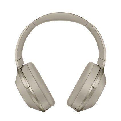 Amazon Com Sony Premium Noise Cancelling Bluetooth Headphone Grey Beige Mdr1000x C Electronics