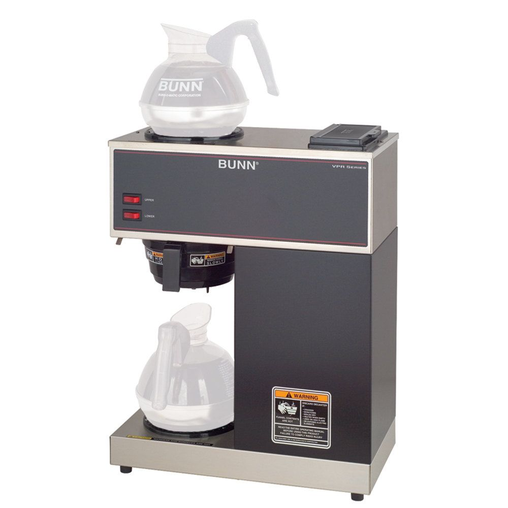 Bunn 33200 0000 Vpr 12 Cup Pourover Coffee Brewer With 2 Warmers 120v With Images Coffee Brewer Pour Over Coffee Coffee