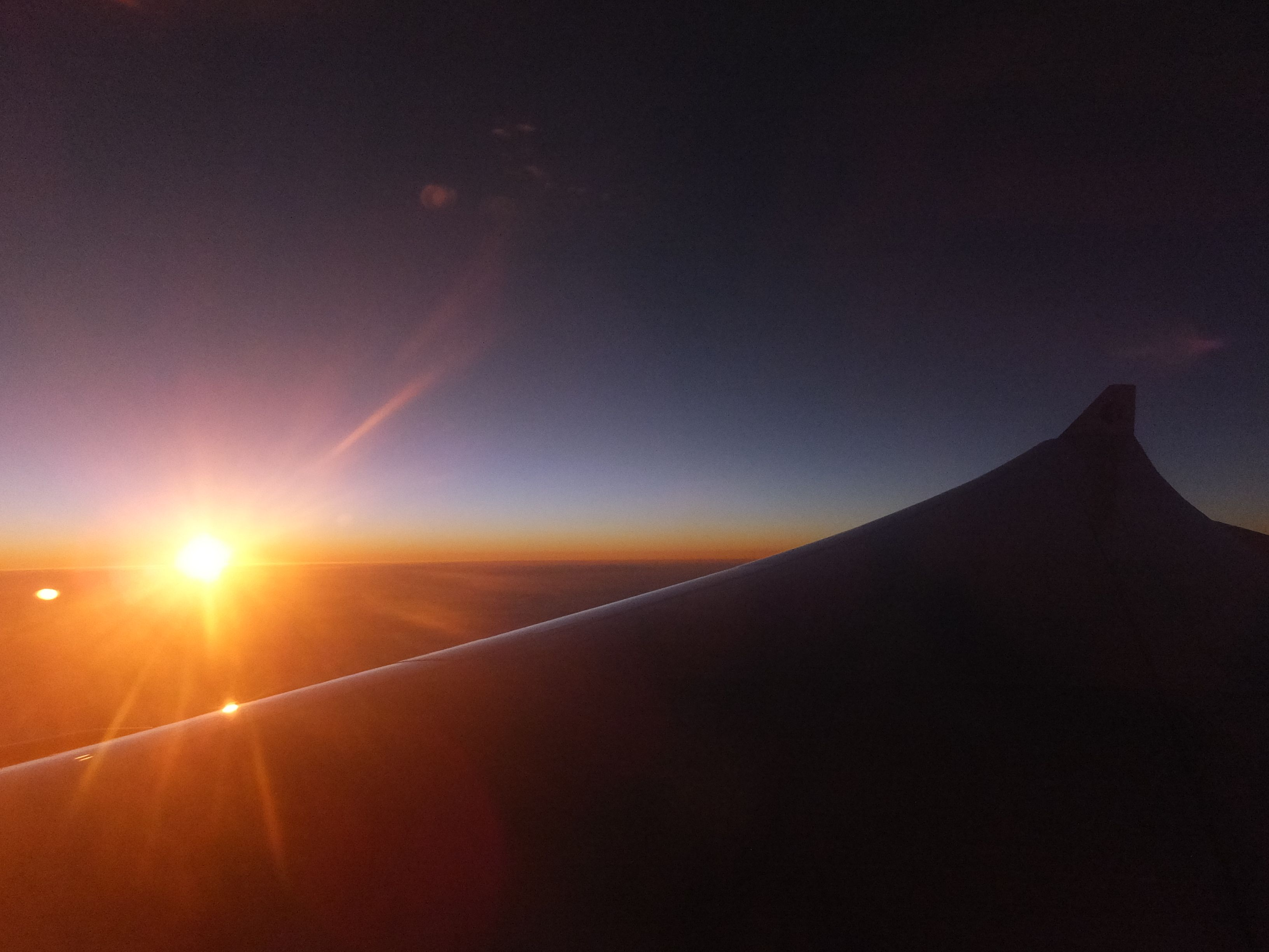 Sunrise at Airplane