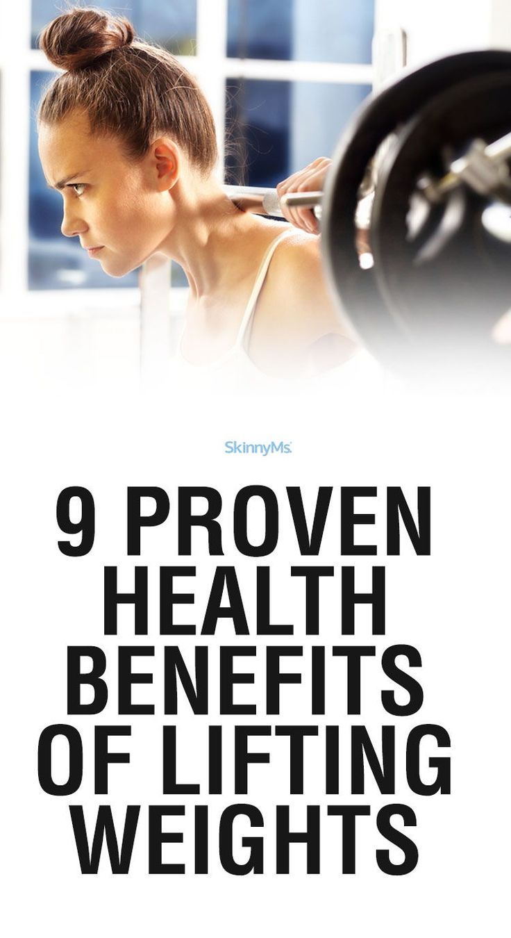 9 Proven Health Benefits of Lifting Weights