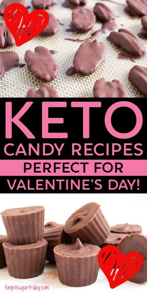 KETO Candy Recipes perfect for Valentines Day