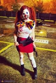 scary clown woman costume - Google Search & scary clown woman costume - Google Search | Halloween | Pinterest ...