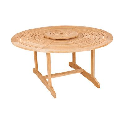 hiteak furniture royal round table reviews wayfair good