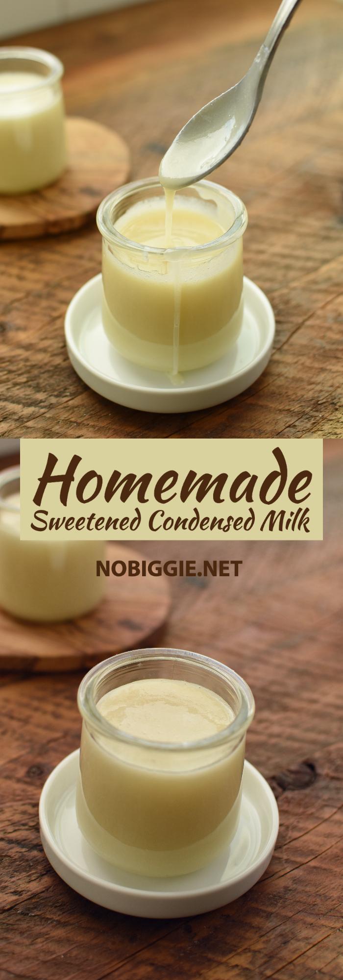 Homemade Sweetened Condensed Milk Recipe Homemade