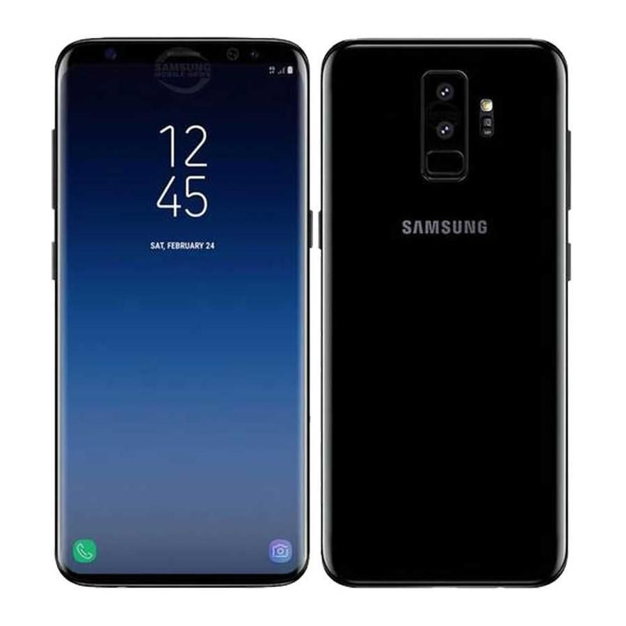 Galaxy S9 Plus 64gb Dual Sim Midnight Black C Spire Samsung Dual Sim Samsung Galaxy S9