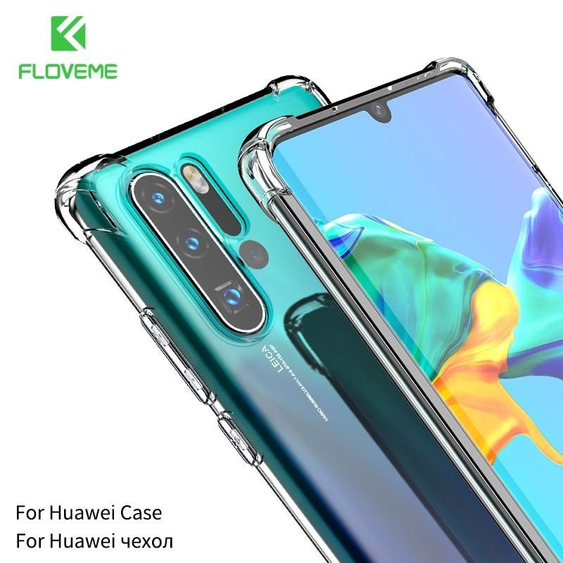 Floveme Case For Huawei P20 Lite P30 Pro Silicone Shockproof For Huawei Mate 20 Lite Case Cover On Honor 10 Funda Coque P 20 Fo In 2020 Huawei Case Huawei Case Cover