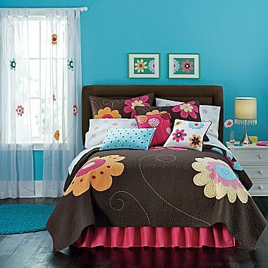 Bright Blossom Quilt & Accessories - jcpenney
