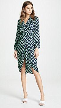 f84362350718 Diane von Furstenberg Carla Dress 2019 in 2019 | Women Clothing ...