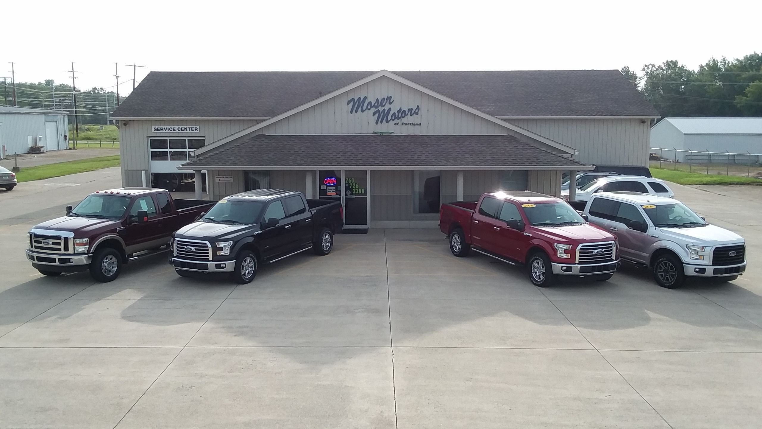 Moser Motor Sales Portland Indiana Ford Service Center Ford Fort Wayne Indiana