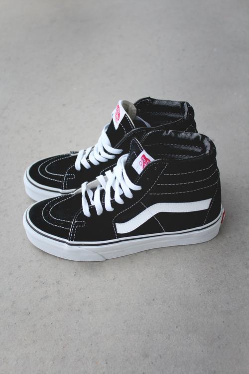 Vans Sk8 High Sepatu Kets Sepatu Dan Kaki