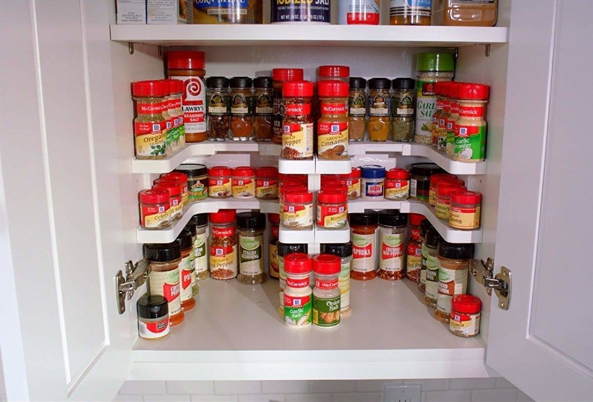 39 Things That Ll Do Jobs You Didn T Know Needed To Be Done In 2020 In 2020 Spice Rack Shelves Spice Rack Organiser
