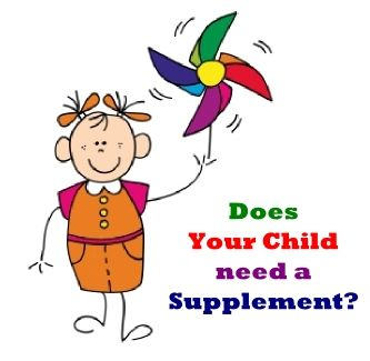 does your child need a daily supplement?