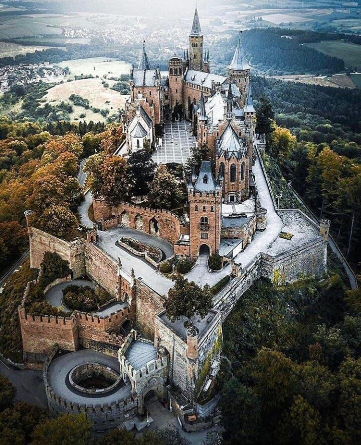 "Castles Fairytales World �� on Instagram: ""Tag #castellidelmondo ���@_andre.diaz Location �#burghohenzollern #germany�� Pic chosen by Admin @salvatorevatrano � #castle #chateau…"""