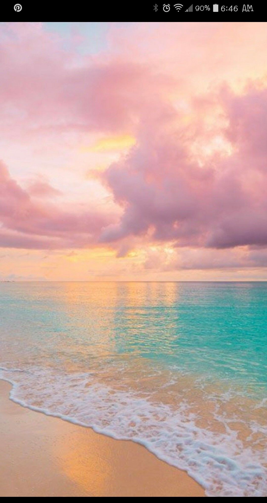 Pastel Beach Sunset Beach Wallpaper Pretty Wallpapers Nature Wallpaper