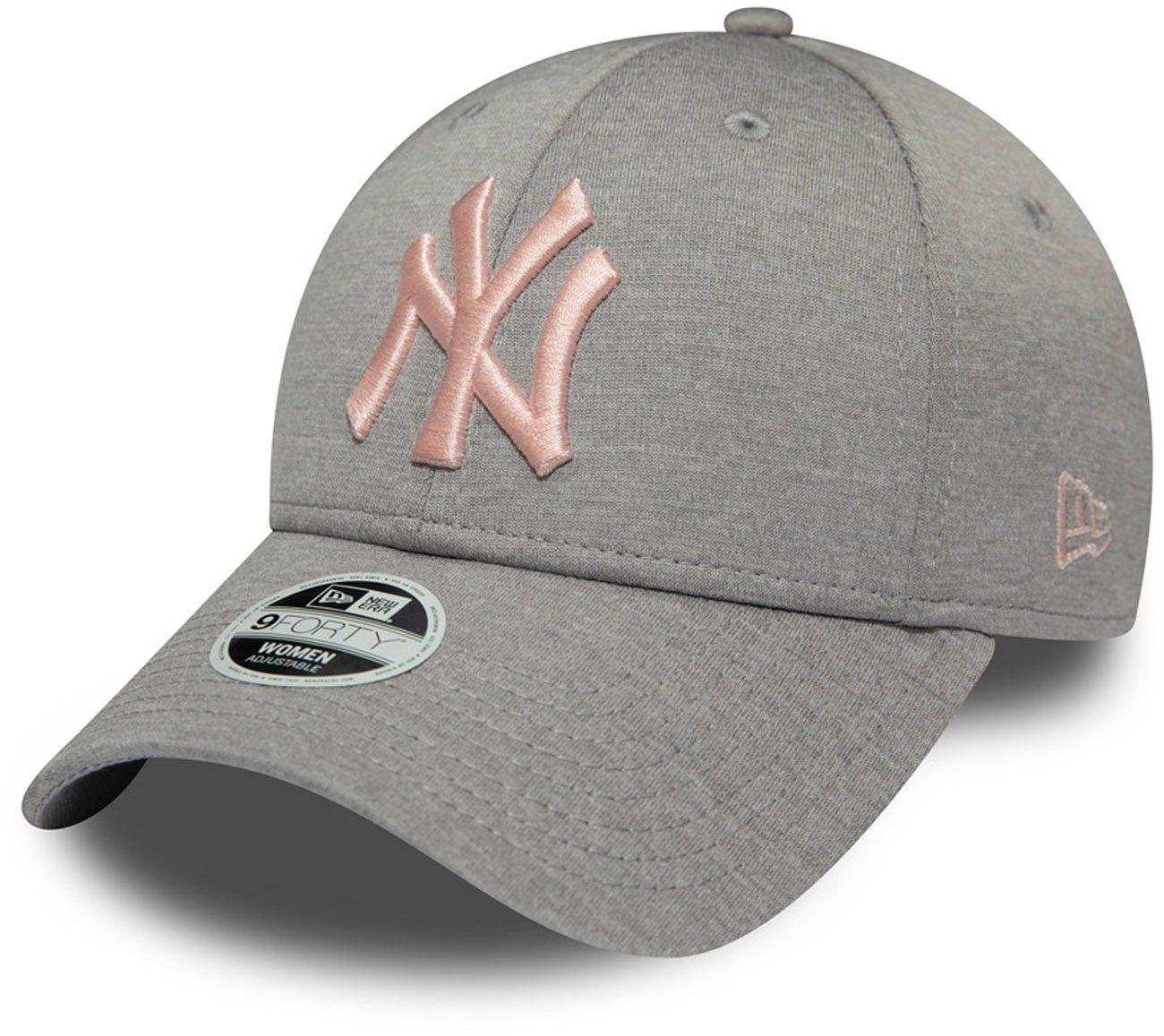 733609f0 NY Yankees Womens New Era 940 Shadow Tech Grey Baseball Cap – lovemycap