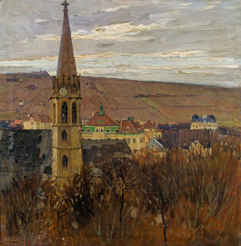 Carl Moll (Austrian, 18611945) View of the