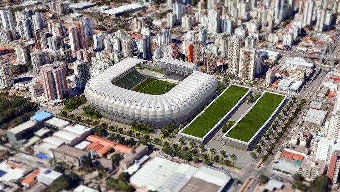 Goiás lança projeto de arena para 25 mil pessoas e inaugura concentração