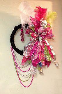 Salty Sisters Pirate Princess Gasparilla wreath # ...