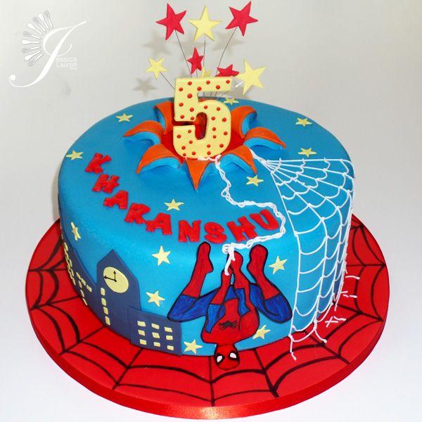 SpiderMan Birthday Cakes Spiderman Birthday Cake marvel