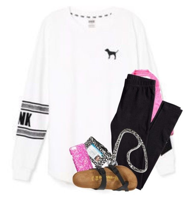 """""""oorn"""" by aletphobia ❤ liked on Polyvore featuring Free People, H&M, Vera Bradley and Birkenstock"""