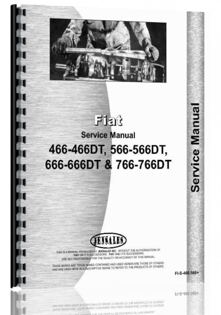 fiat 466 566 666 766 tractor service manual products rh pinterest ca Challenger Tractors Challenger Tractors