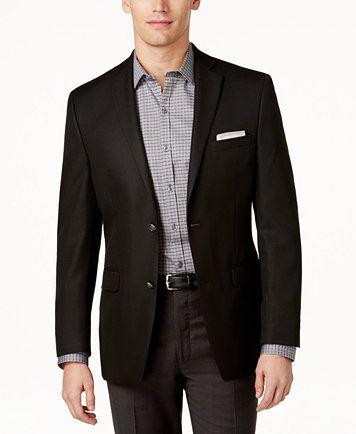 Alfani Slim-Fit Solid Blazer | macys.com