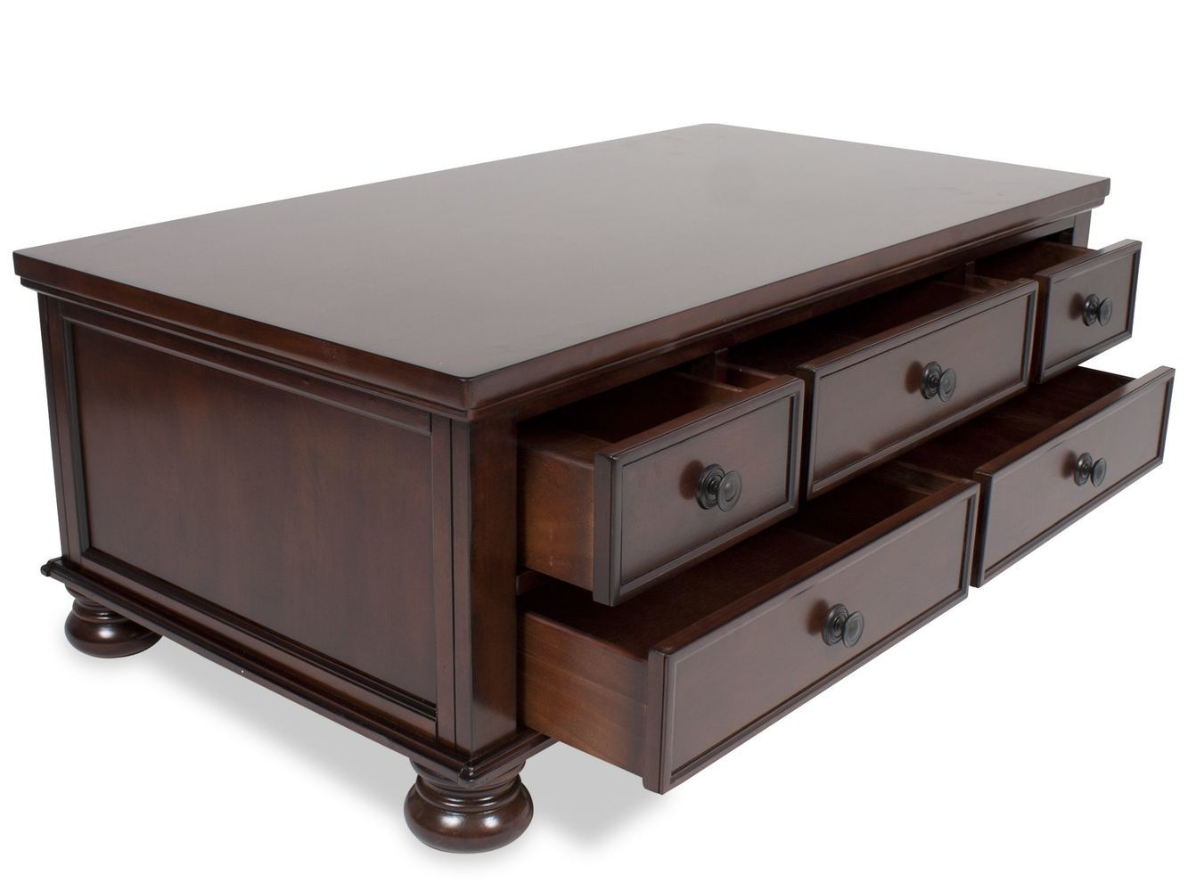Ashley Porter Storage Cocktail Table Mathis Brothers Furniture