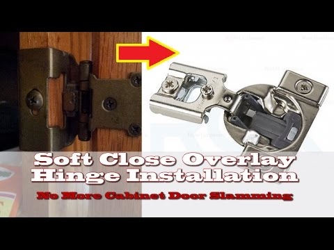 76 How To Install Concealed Overlay Hinges Youtube Overlay Hinges Hinges Hinges For Cabinets