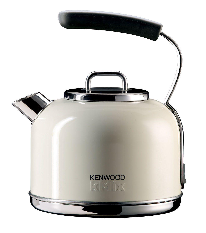 Kenwood Kmix SKM032 Traditional Kettle,1.25 Litre, Almond Cream ...