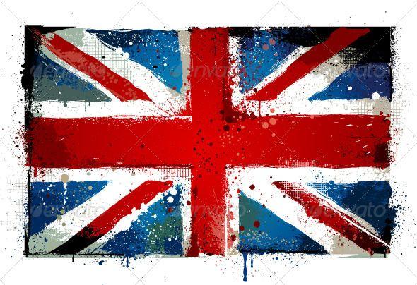 Grungy Uk Flag Uk Flag English Flag Gallery Wrap Canvas