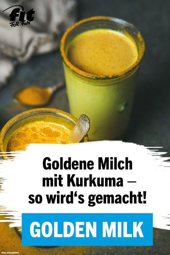 Golden Milk: Köstlicher Kurkuma-Drink voller Benefits - FIT FOR FUN