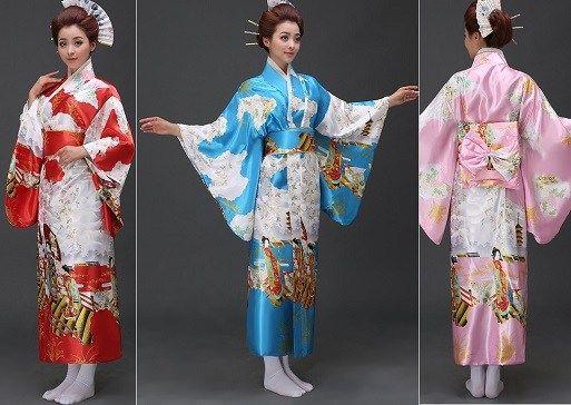 Patrón Kimono japones Yukata | Nähen