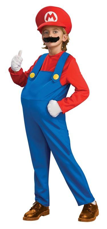 Mario Deluxe Child Costume #mario costume #super mario costume #super mario nintendo costume