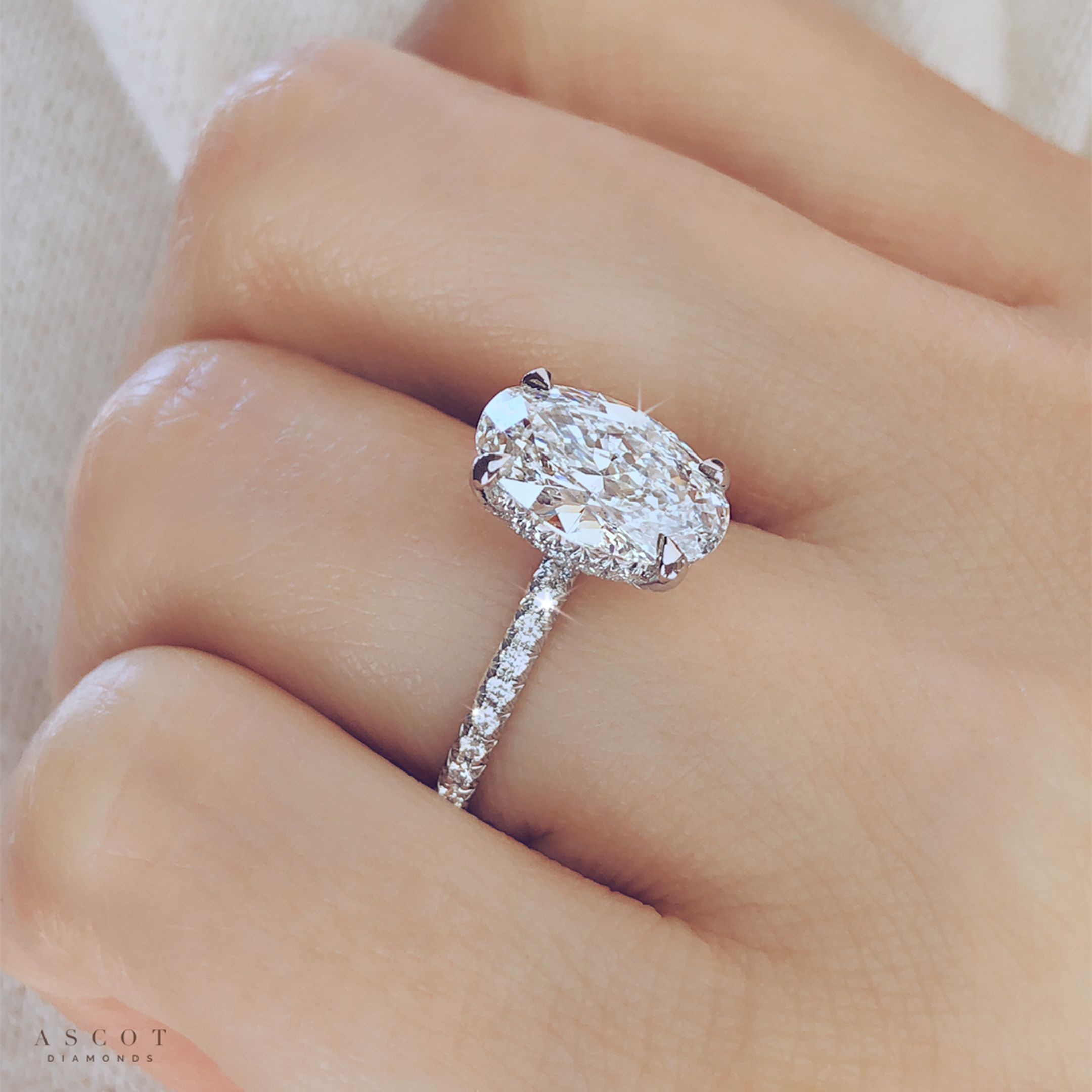 2 Ct Oval Diamond Solitaire Engagement Ring Ascot Diamonds In 2020 Oval Solitaire Engagement Ring Oval Diamond Engagement Oval Diamond Engagement Ring