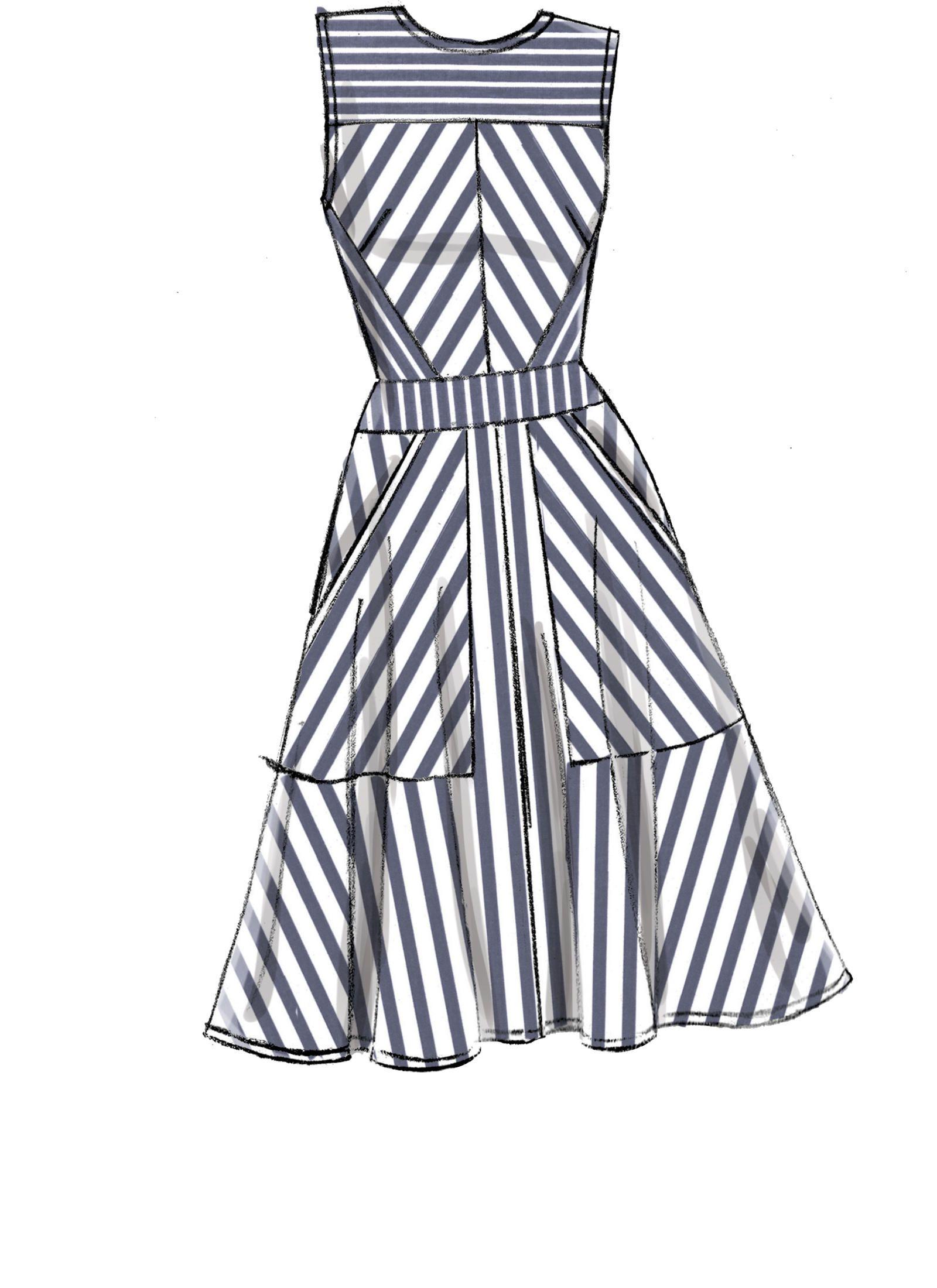 V9357 Sewing Dresses Fashion Fashion Sewing Pattern