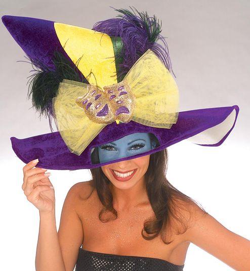 Mardi Gras NOLA Jester Hat Fleur de lis New Orleans
