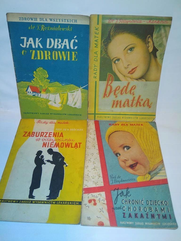Bede Matka Jak Dbac O Zdrowie 4 Ksiazki 7712568951 Oficjalne Archiwum Allegro Books Book Cover Cover
