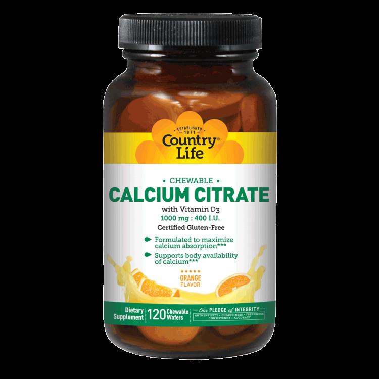 Calcium Citrate with Vitamin D3 | Calcium citrate, Vitamin ...