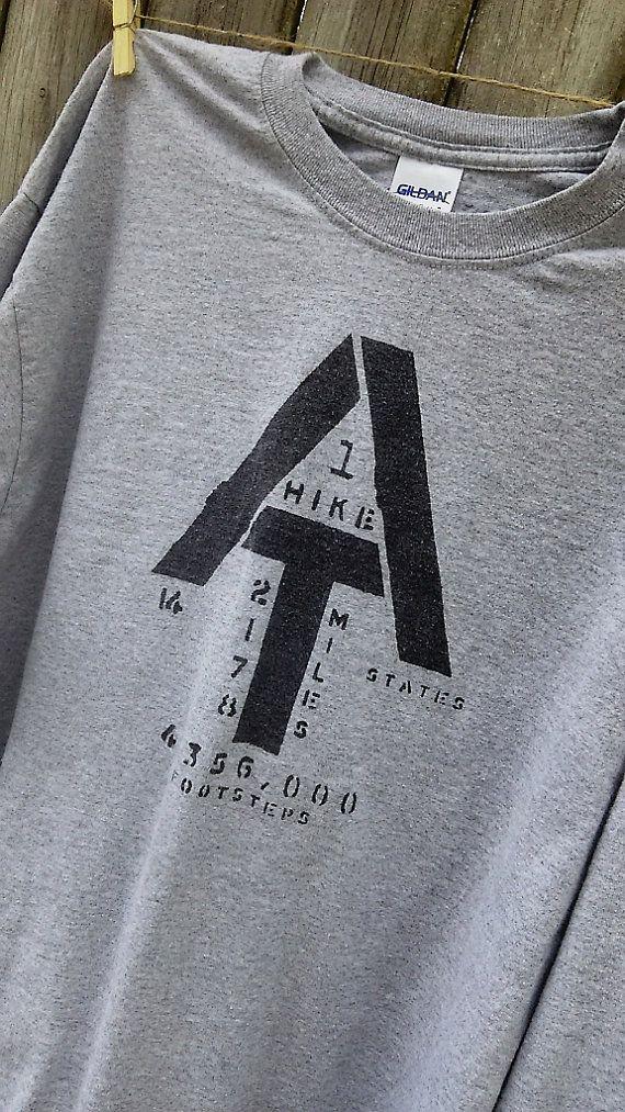24aef73ada4 Adult LARGE Appalachian Trail symbol vintage long sleeved t-shirt  Appalachian Trail