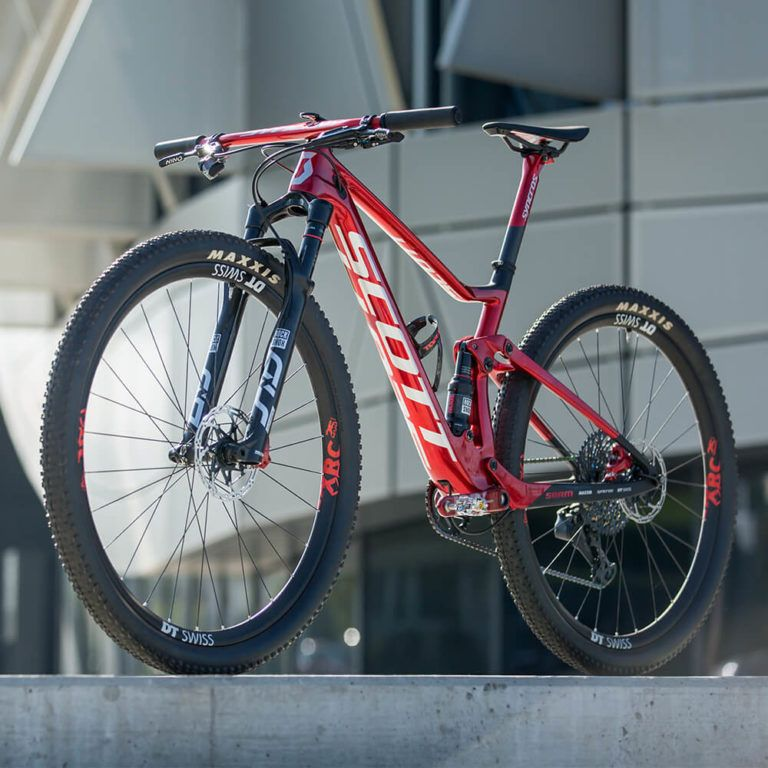 2020 Scott Spark Rc 900 World Cup Nino Edition Red Complete In 2020 Scott Spark Scott Bikes World Cup