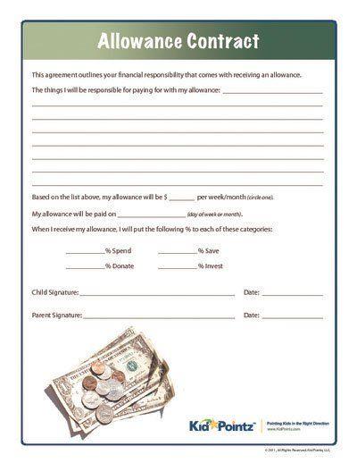allowance contract