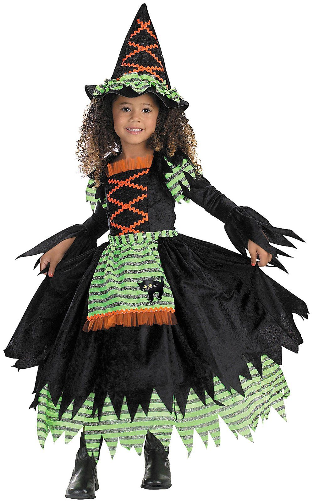 dress up your little girl in this bewitching story book witch