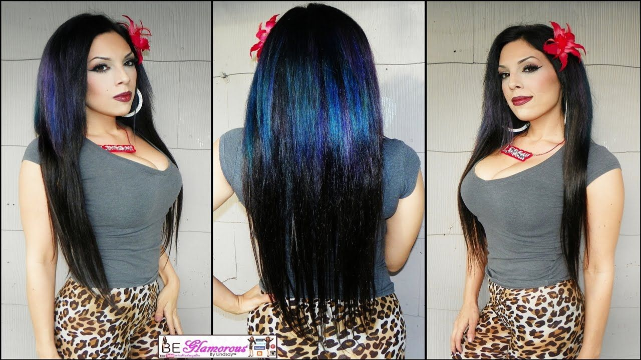 How to Clip In Extensions (24 inch/Straight Styled) with