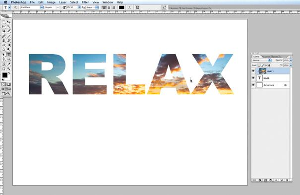 How To Use Photoshop To Add Images To Text How To Use Photoshop Photoshop Text Image