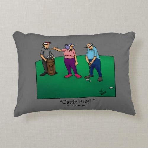 Funny Golf Humor Pillow