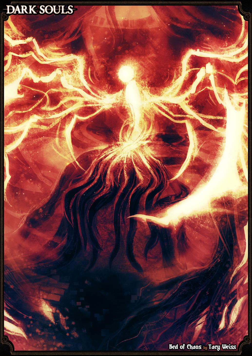 Perfect Resultat Du0027imatges De Dark Souls Bed Of Chaos Fanart