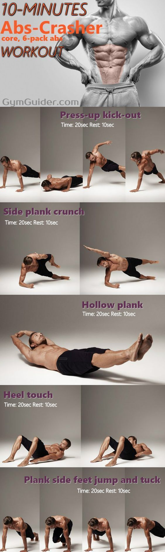 10 Minute Bodyweight Abs Workout You Can Do At Home #abs #workout #sixpackabs #fitness #10Minutes #A...