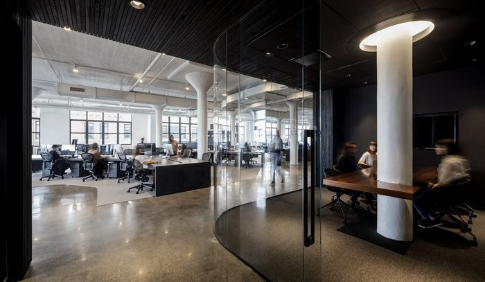 Squarespace Office by Architecture + Information - Office Snapshots - innovatives interieur design microsoft